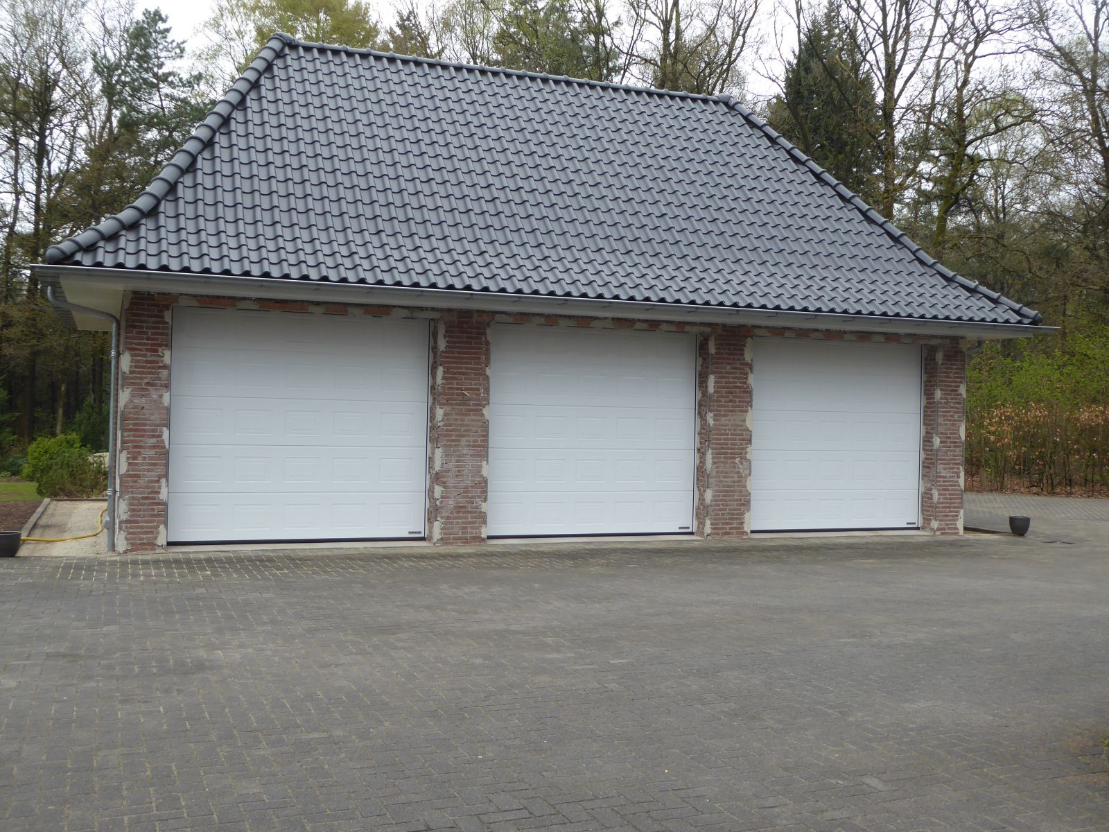 Hormann sectionaal garagedeur Buitink Deventer  in Holten 2018