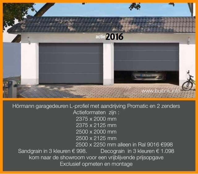 buitink deventer actie garagedeuren 2016 2 handzenders