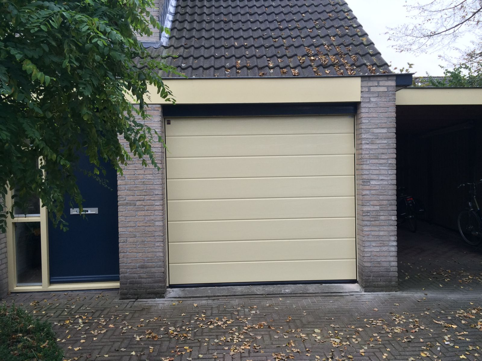 Hormann sectionaal garagedeur Buitink Deventer oktober 2016