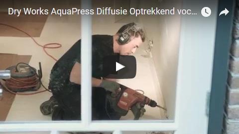 Aquapress Diffusie - het beste systeem tegen optrekkend vocht