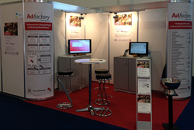 AdFactory International, IFRA 2013 @ hall2.2, stand 255
